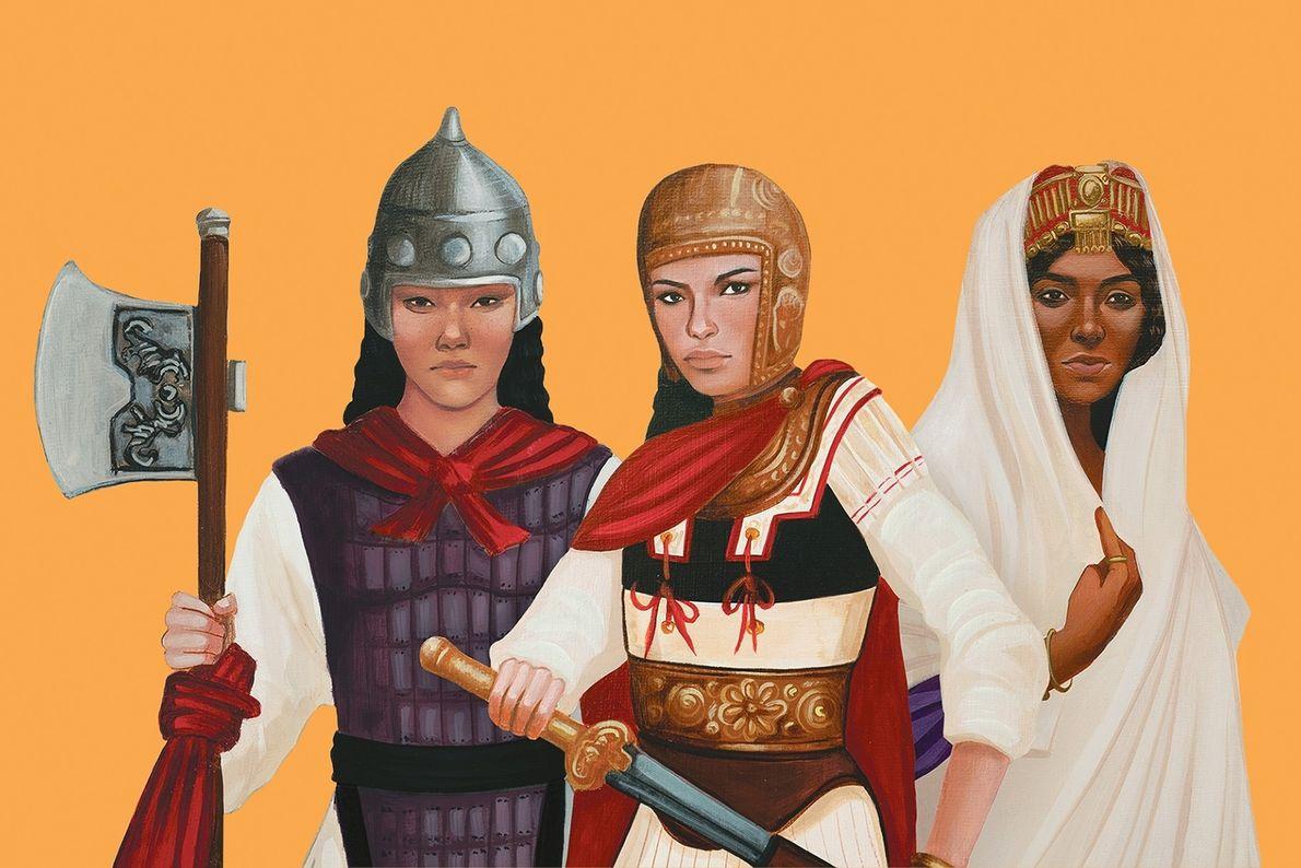 Nueve mujeres guerreras que pasaron a la historia