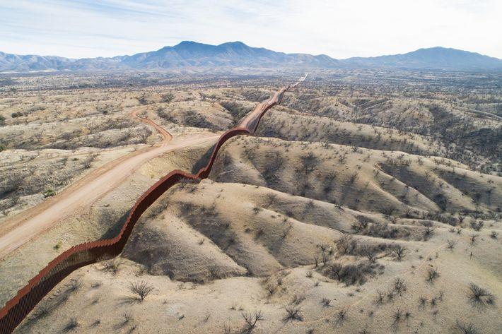 Lado mexicano del muro