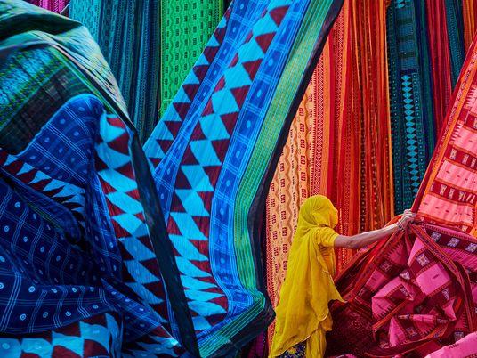 La historia de los saris indios