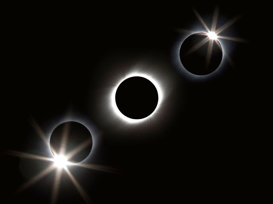 Los efectos producidos por un eclipse solar total