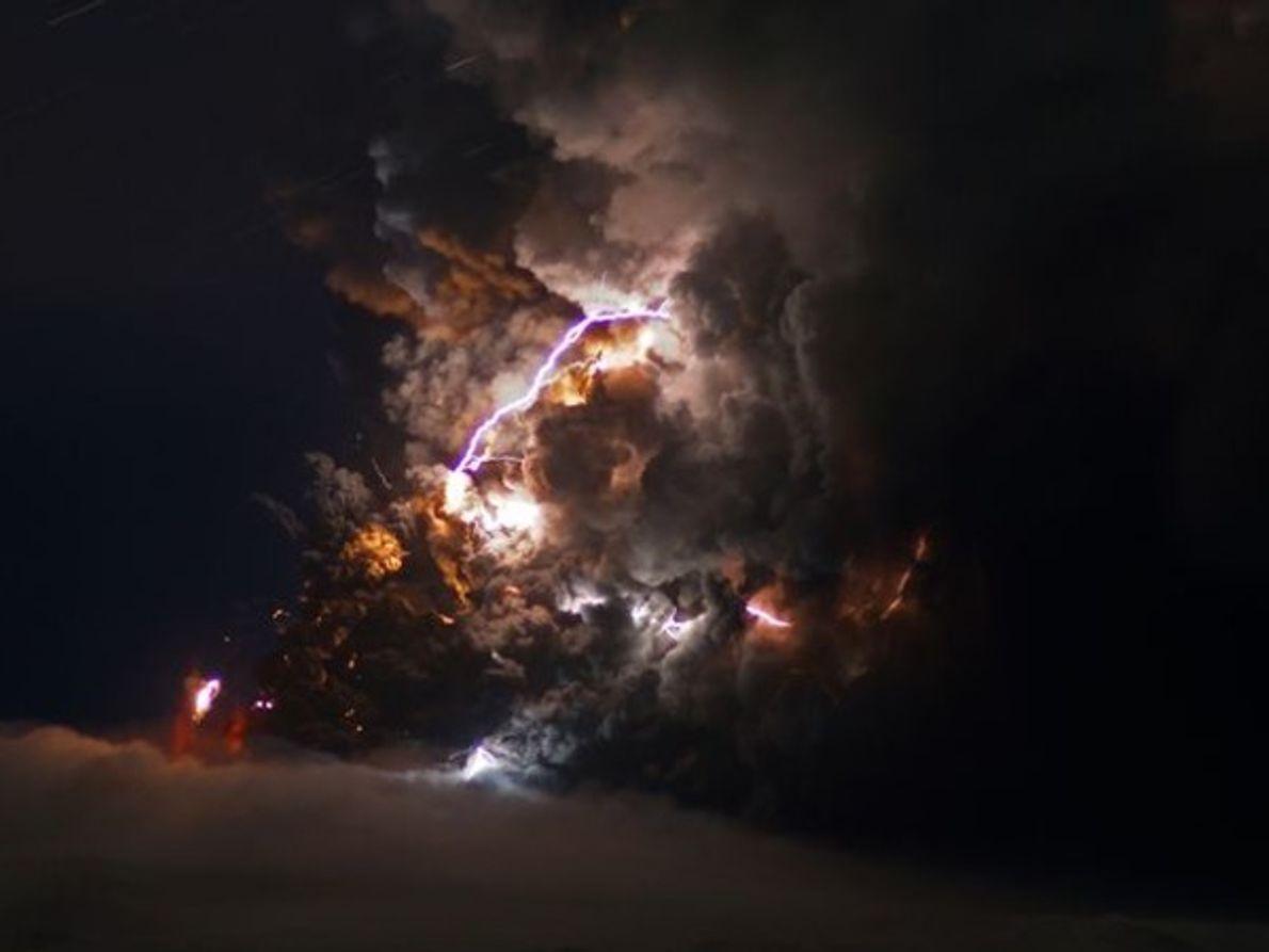 Galería del volcán islandés Eyjafjallajökull