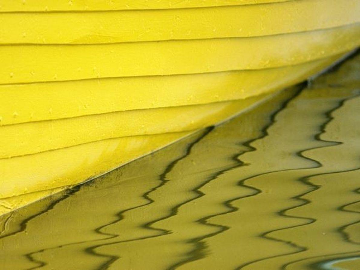 Barco amarillo
