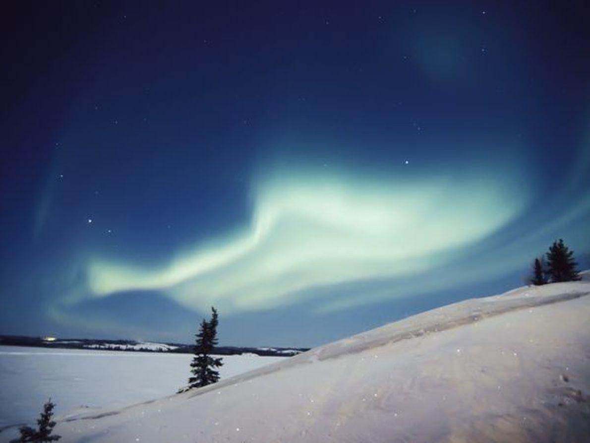 Aurora sobre Yellowknife