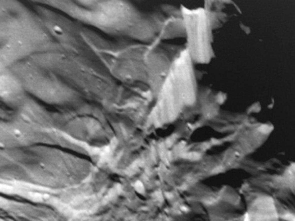 La superficie de Miranda