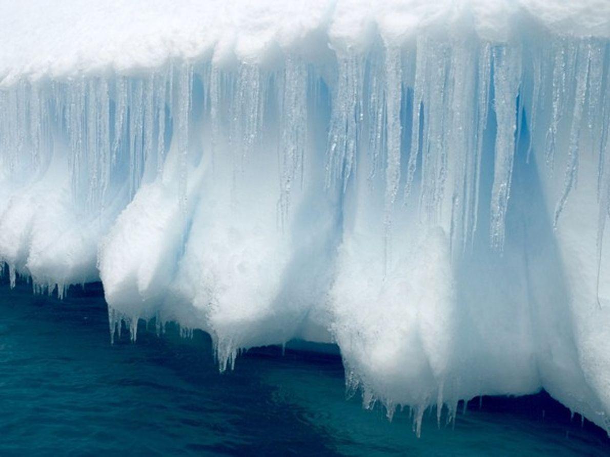 Carámbanos antárticos