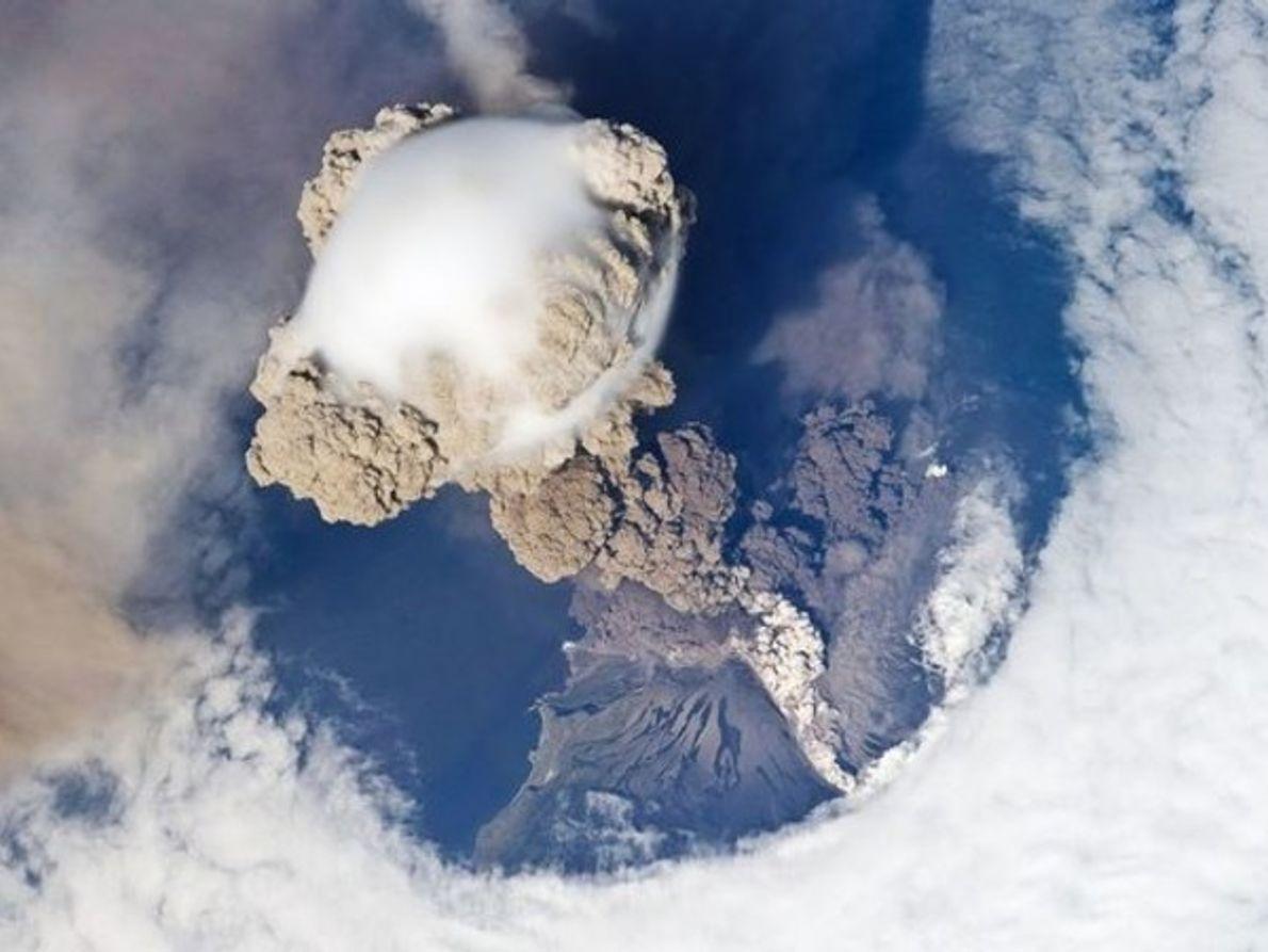 Burbuja volcánica