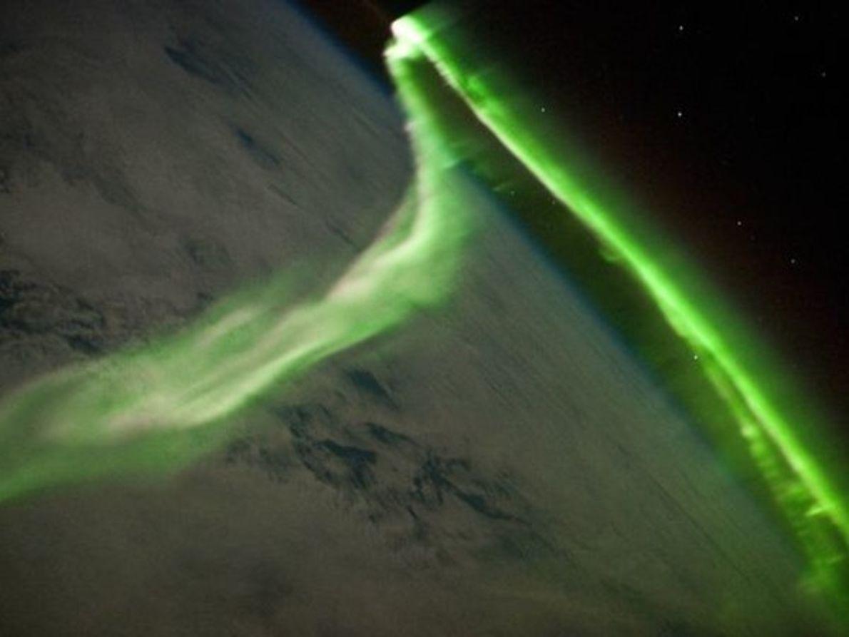 Aurora sobre la Tierra