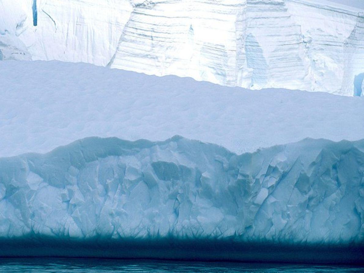 Glaciar desmoronándose