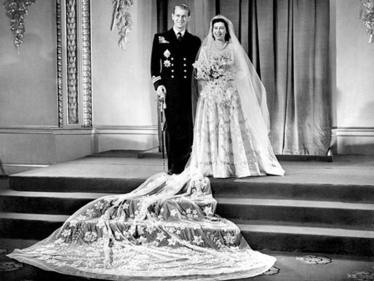 Los vestidos de novia en bodas reales