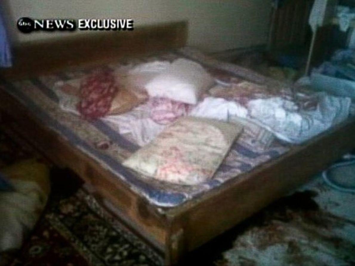 ¿La cama de Bin Laden?