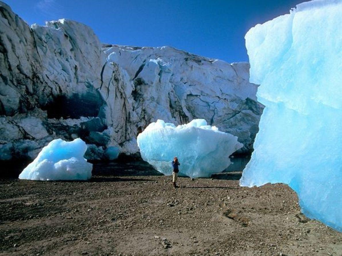 Glaciar del Parque Nacional de la Bahía, Alaska