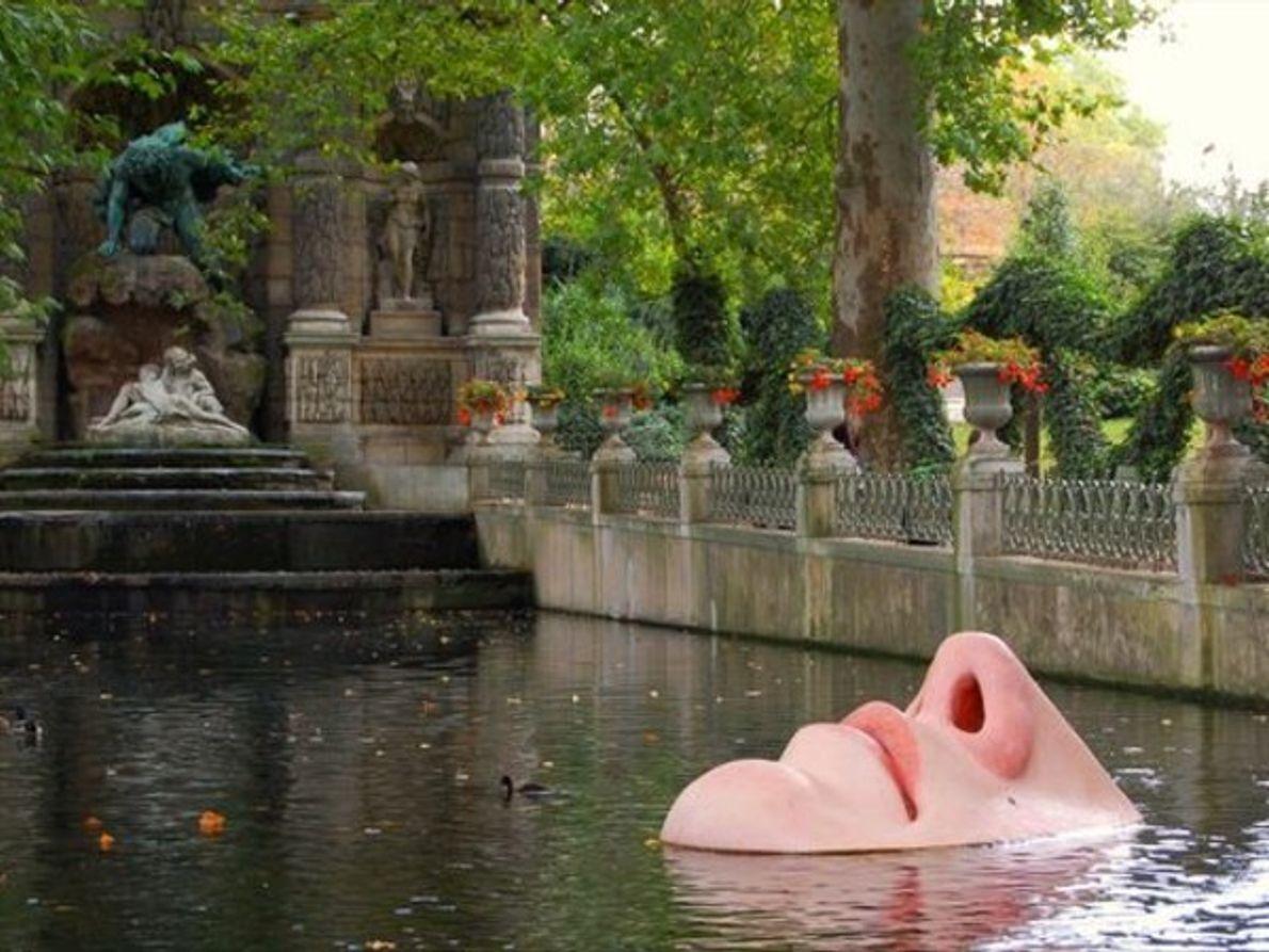 Jardín Luxemburgo en París, Francia