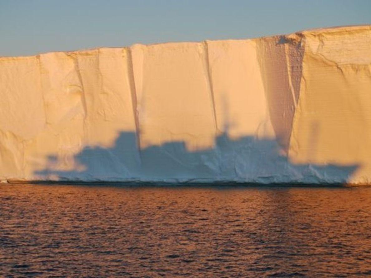 Glaciar Mertz en la Antártida