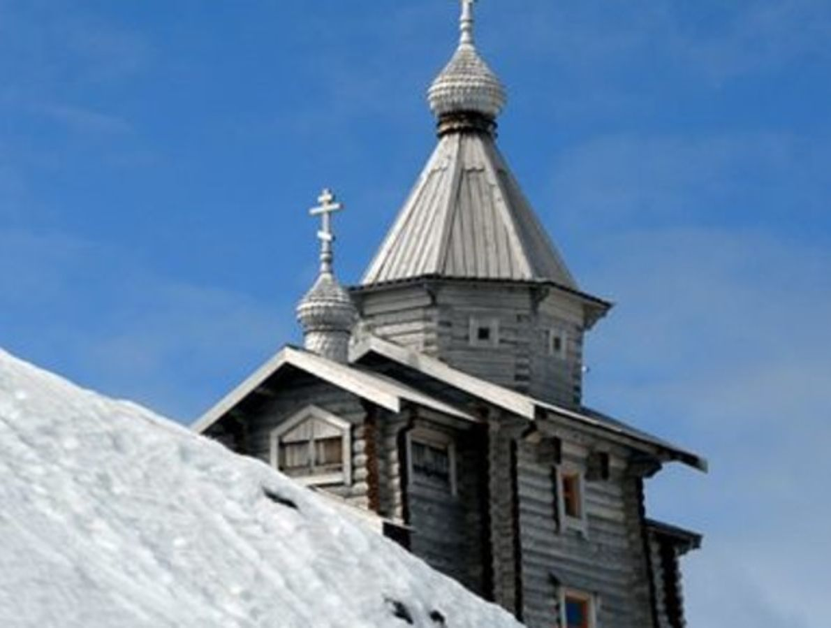 Iglesia Ortodoxa Rusa, Isla Rey Jorge