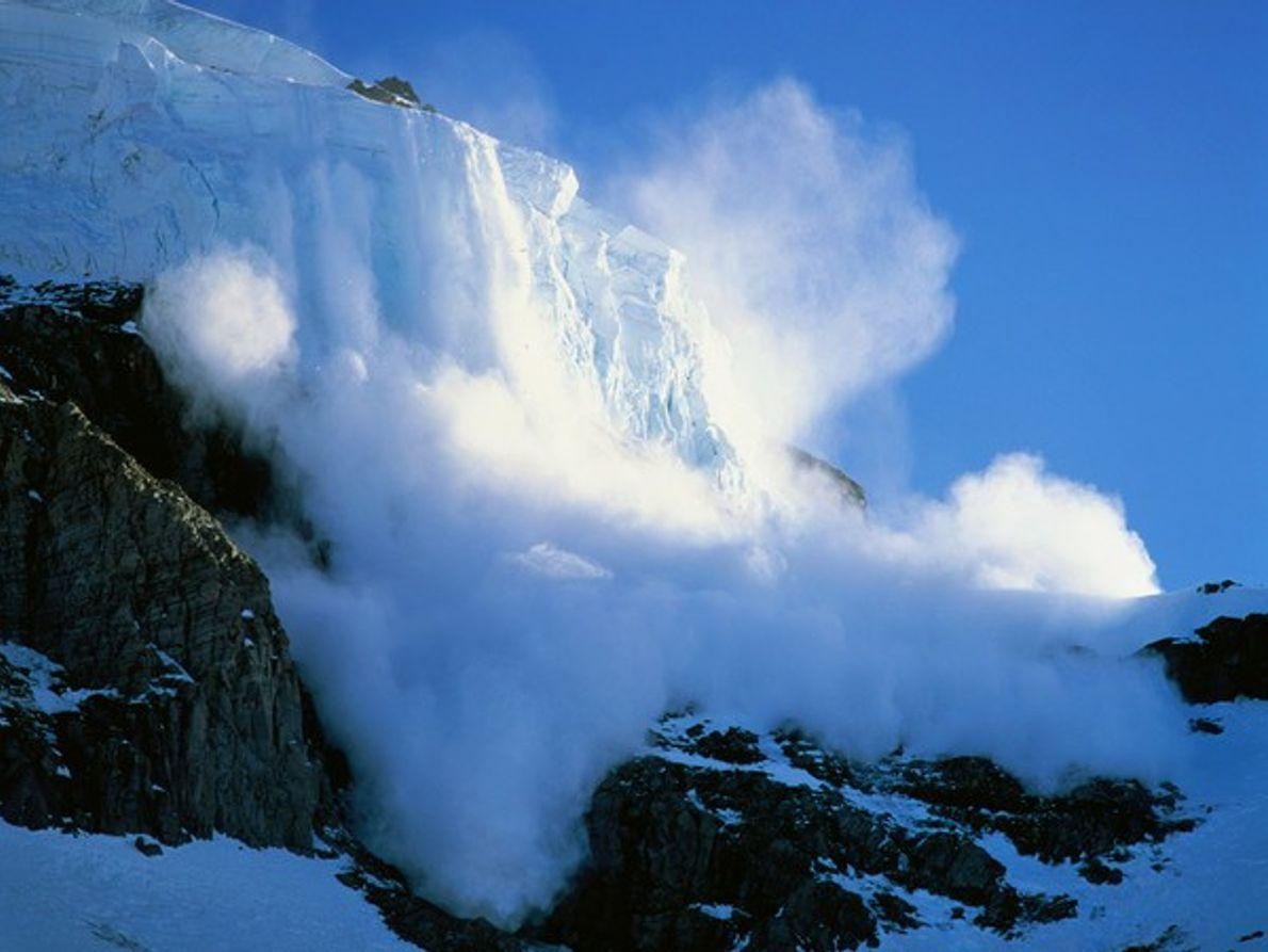 Alud en el Monte Rainier