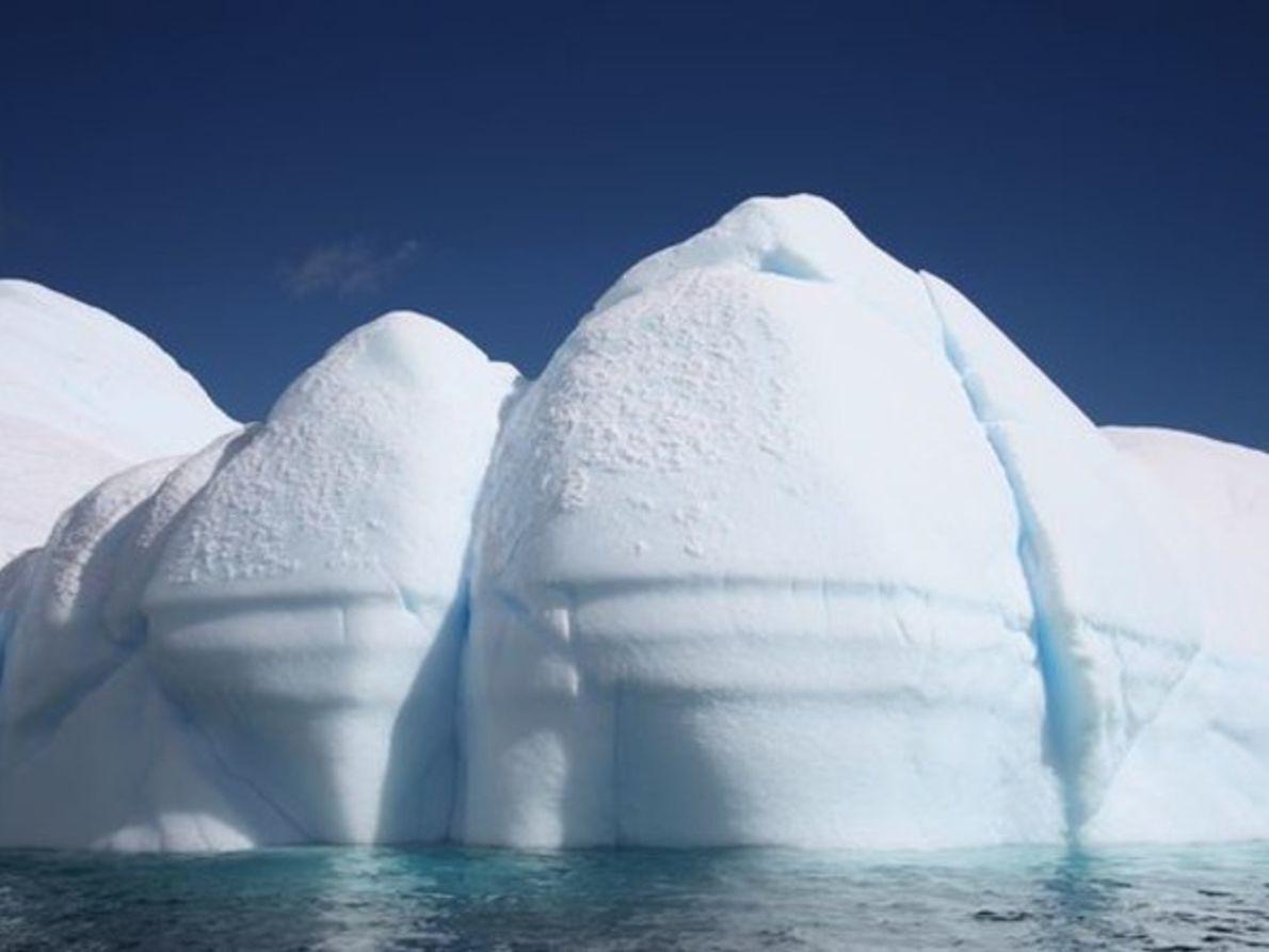 Icebergs redondeados