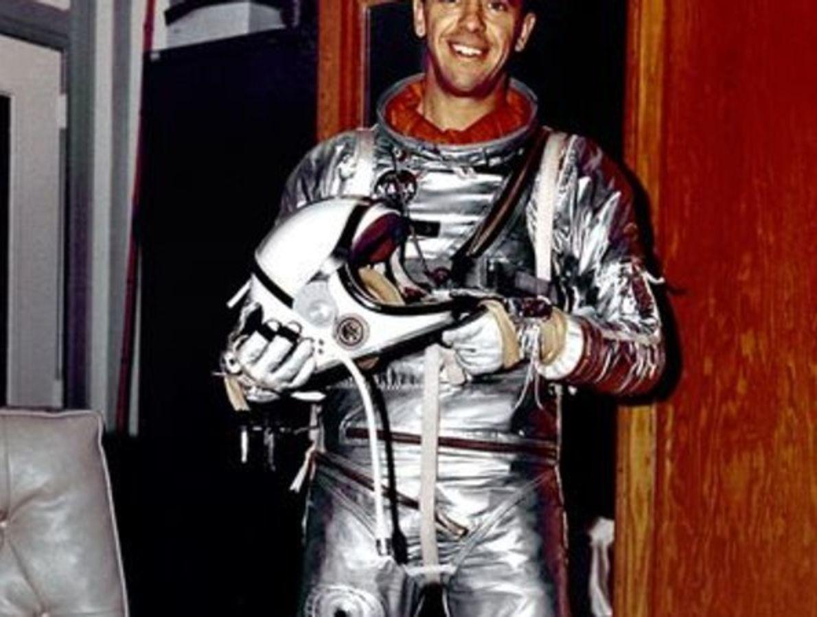 Alan Shepard: el primer norteamericano en el espacio