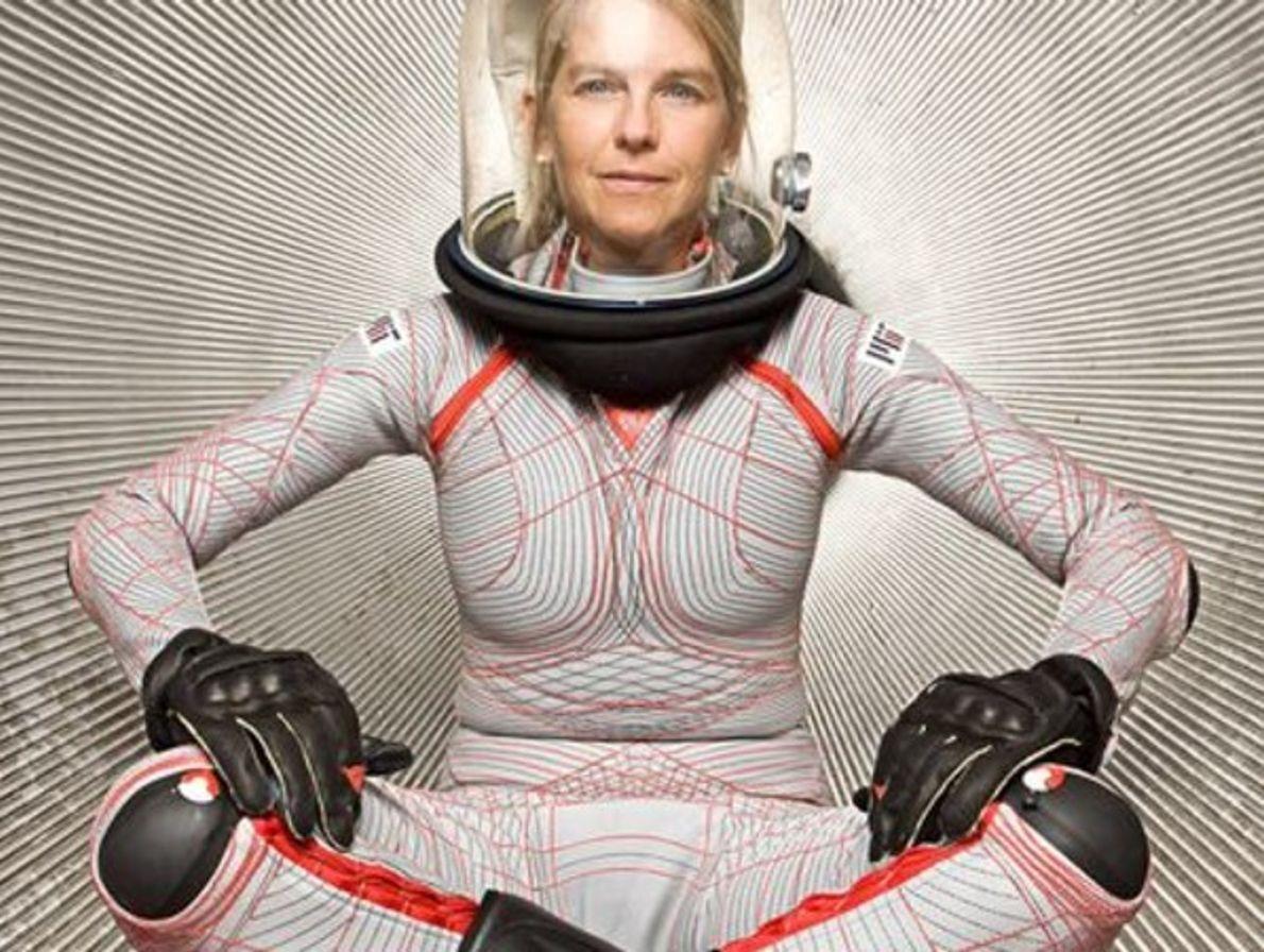¿Traje espacial del futuro?