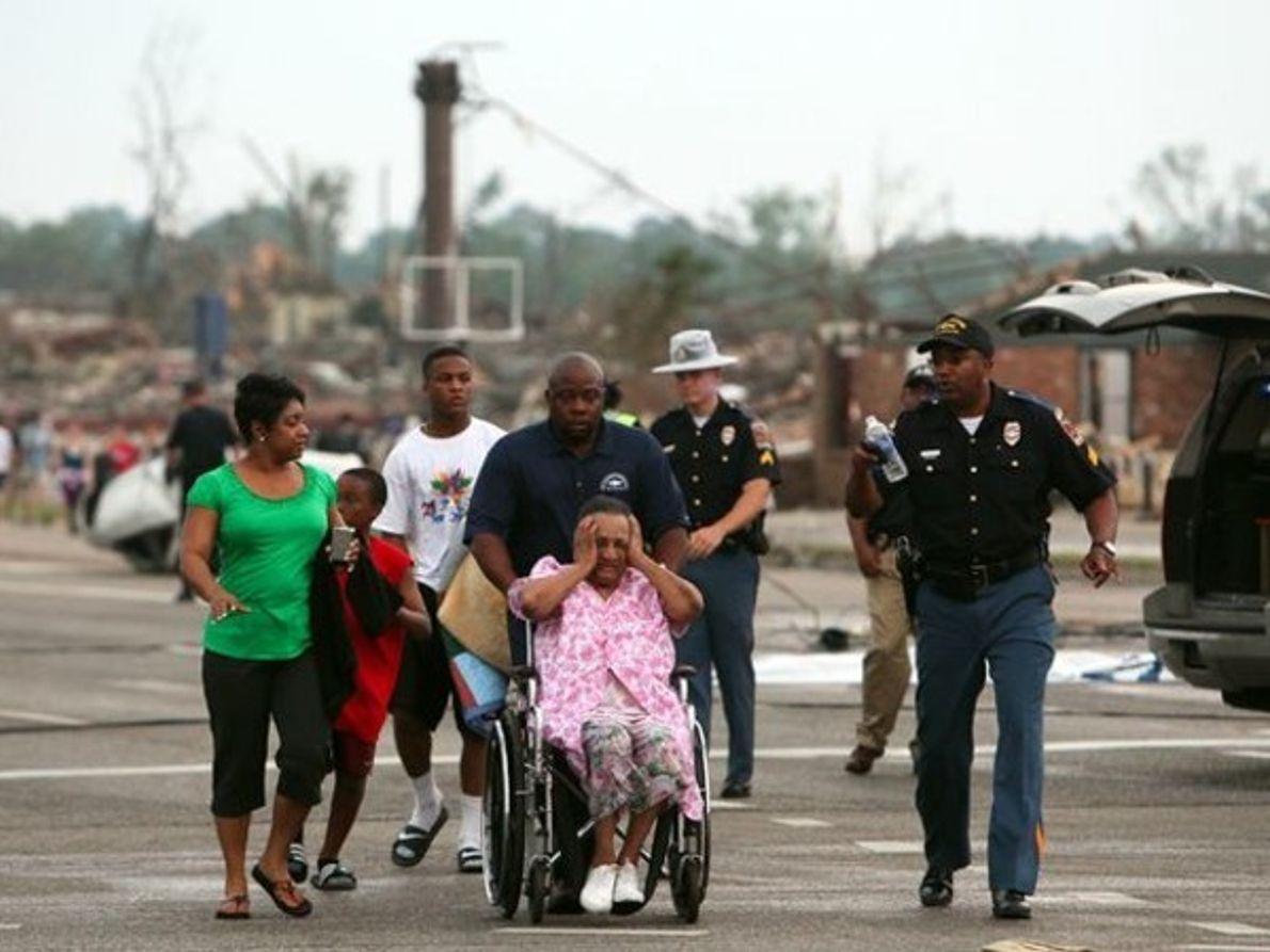Los sobrevivientes del tornado