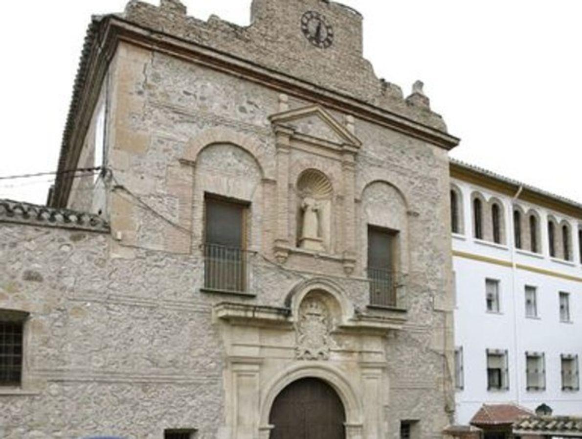 Torre de la Campana derrocado por el terremoto