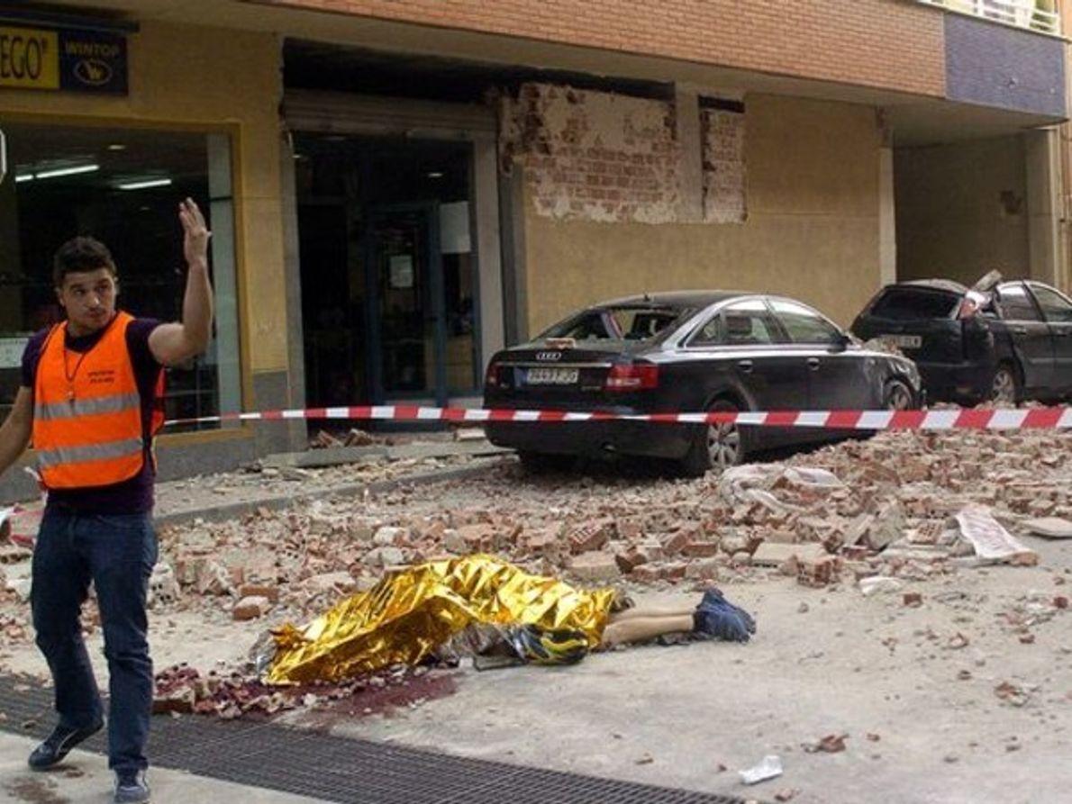 Víctimas del terremoto