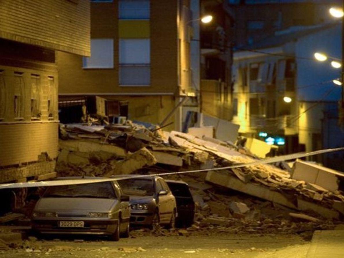 Las trágicas imágenes del terremoto de Lorca, Murcia
