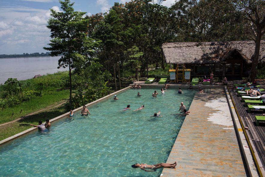 Los huéspedes del complejo hotelero On Vacation Amazon