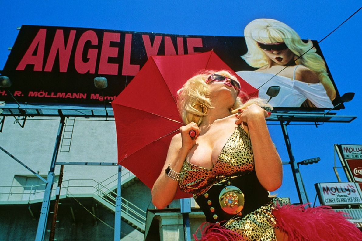 Modelo de cartel, Sunset Boulevard