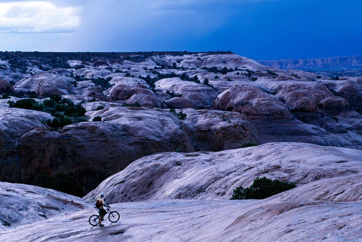 La pista Slickrock, Moab