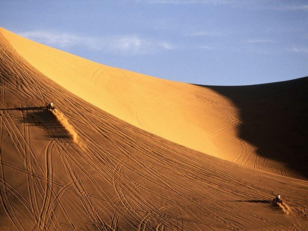 Quads en las dunas de Dumont (California)