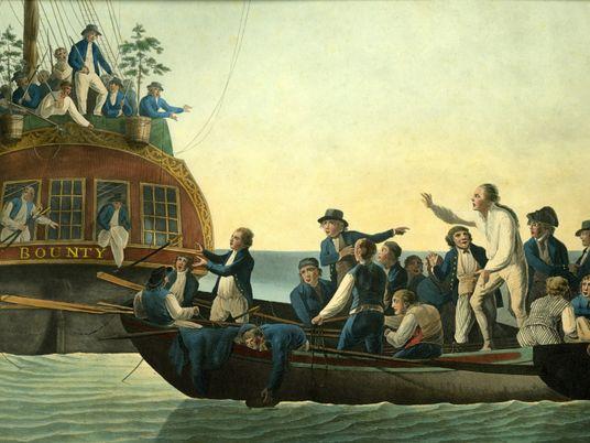 La historia real del infame motín en el HMS Bounty