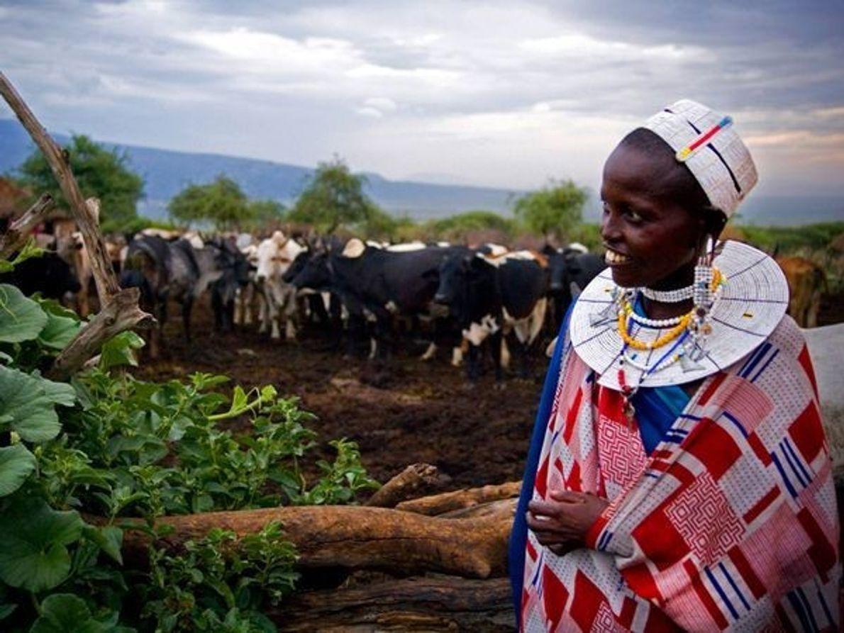 Maasai Mujer