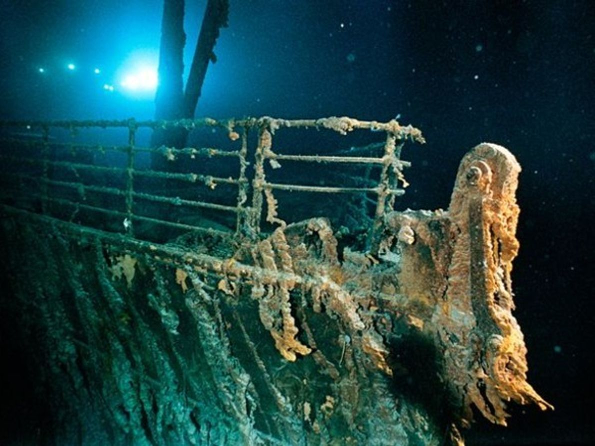 Bacteria del Titanic