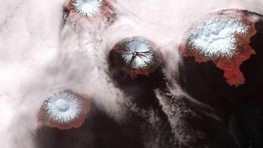 Estas islas de Alaska podrían formar parte de un mismo volcán