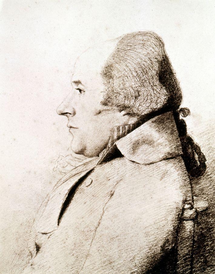 Retrato de William Bligh