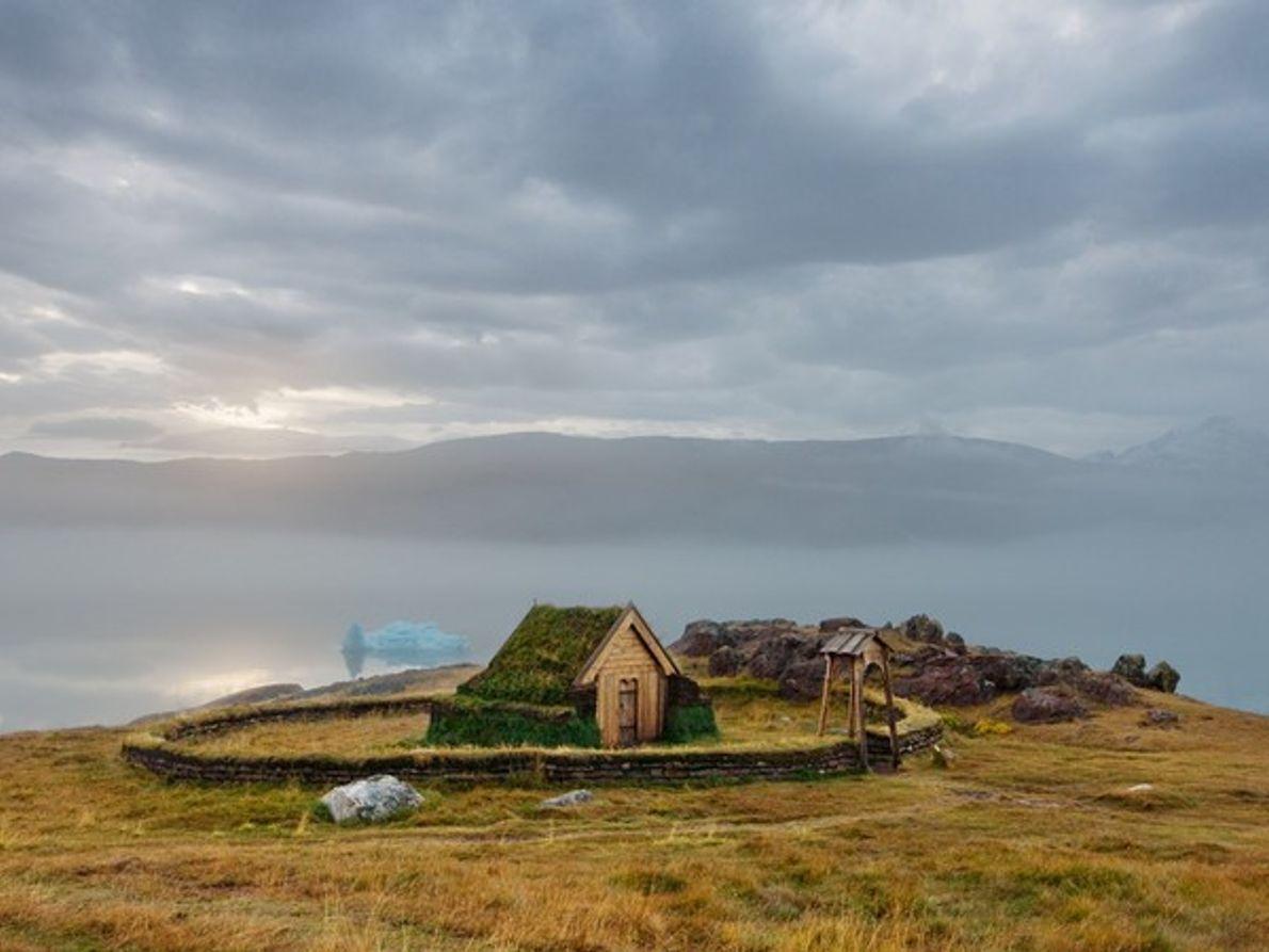 Iglesia de madera, Groenlandia