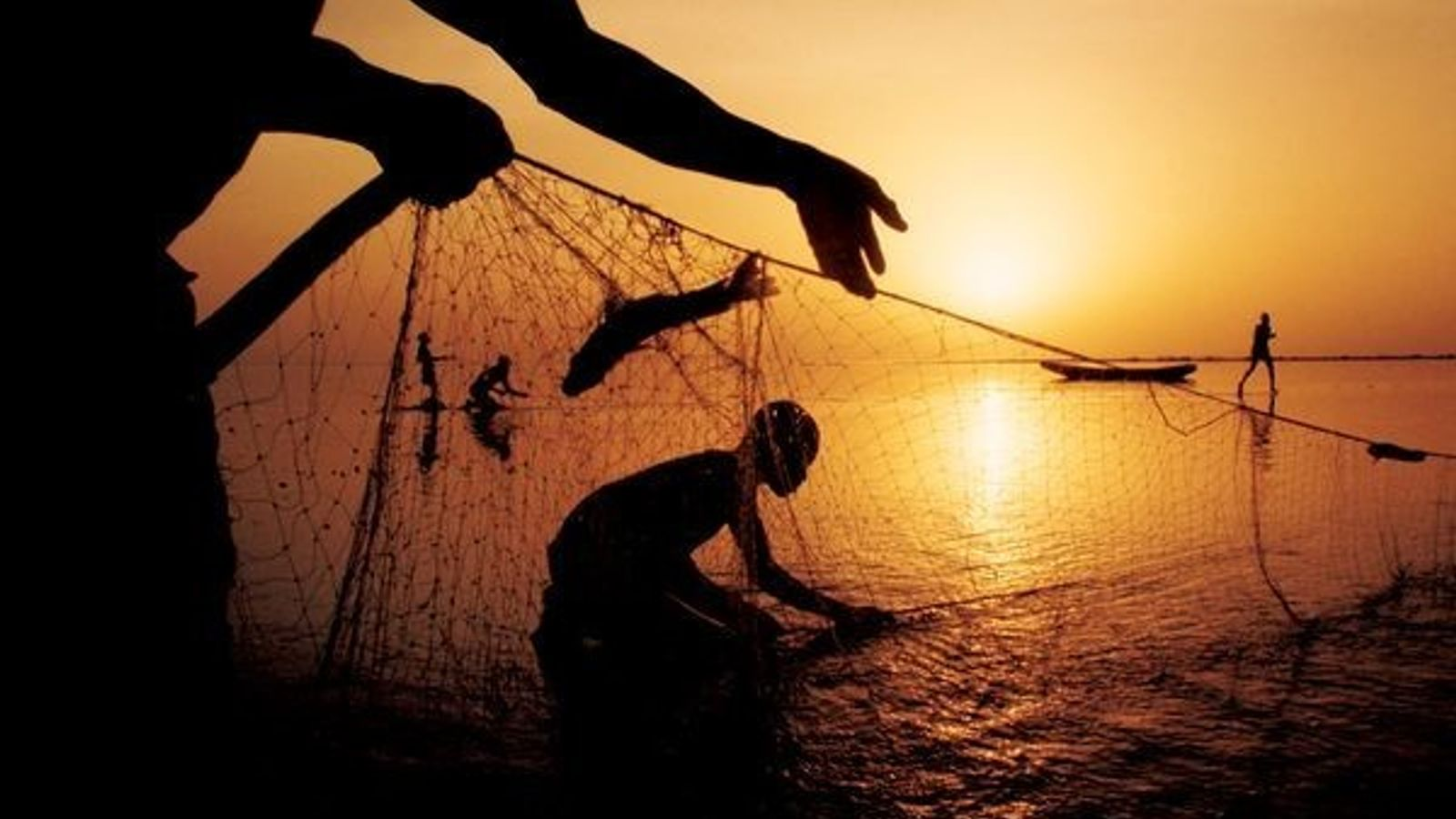 Los pescadores, el Chad