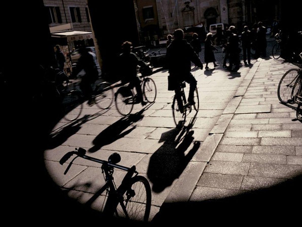 Ciclistas, Italia