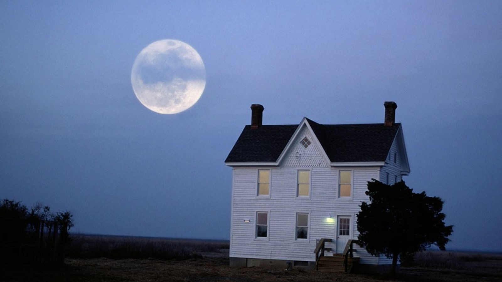 Salida de la Luna, Chesapeake Bay