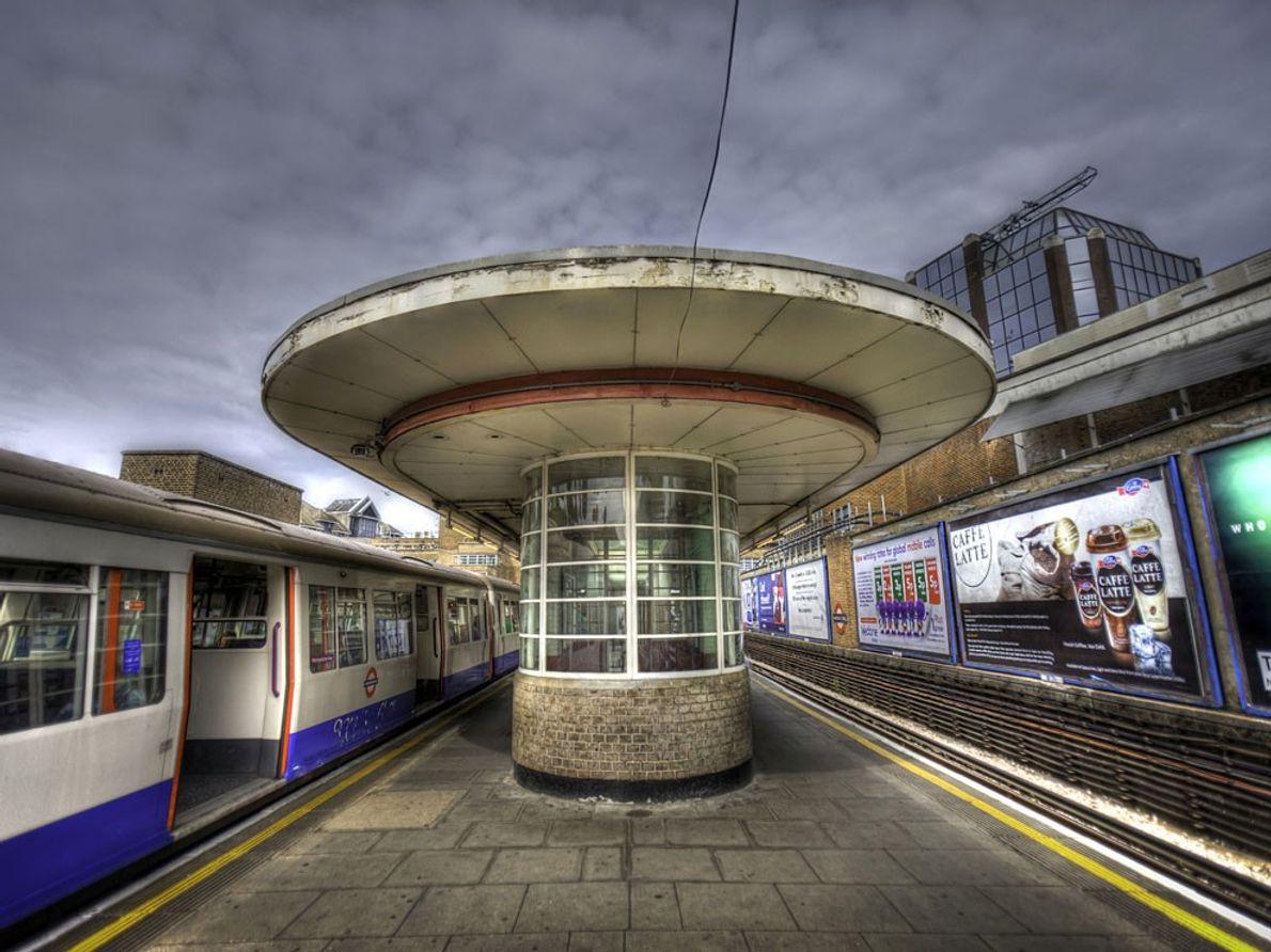 El metro, Londres