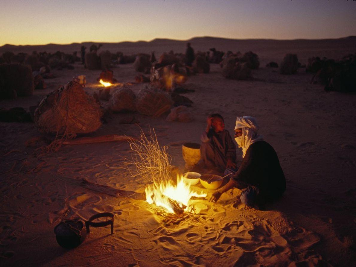 Tuareg, Sáhara