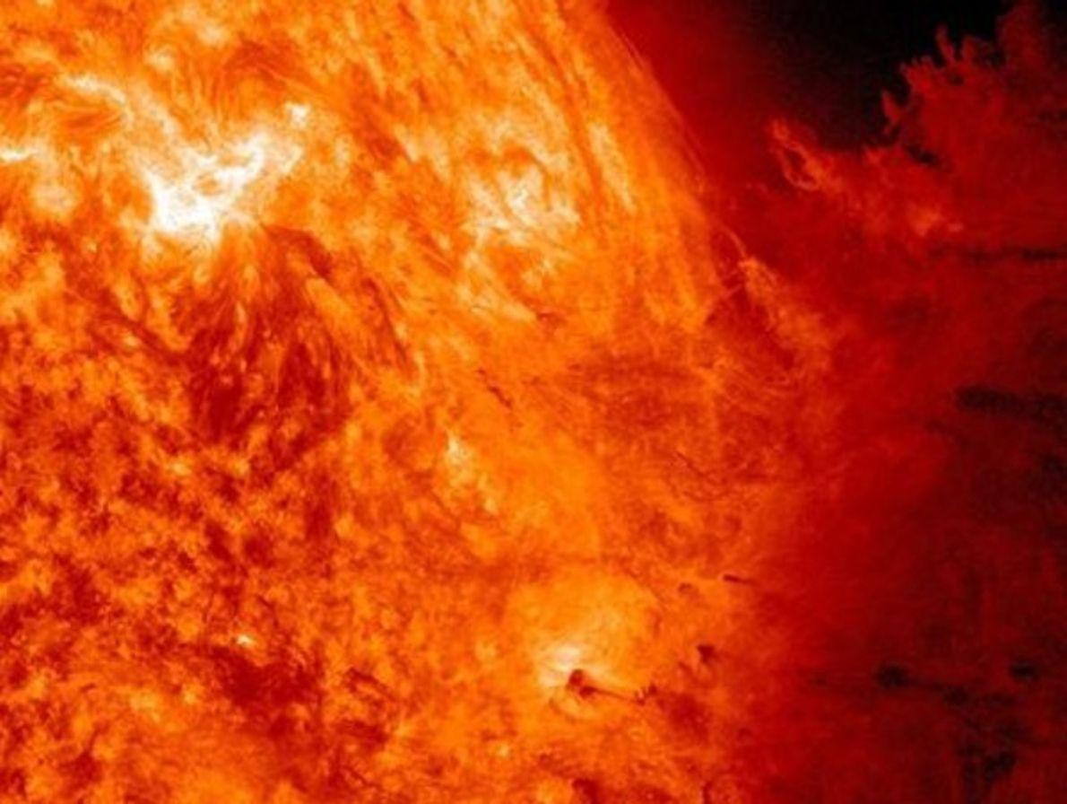 ¿La mayor erupción solar?
