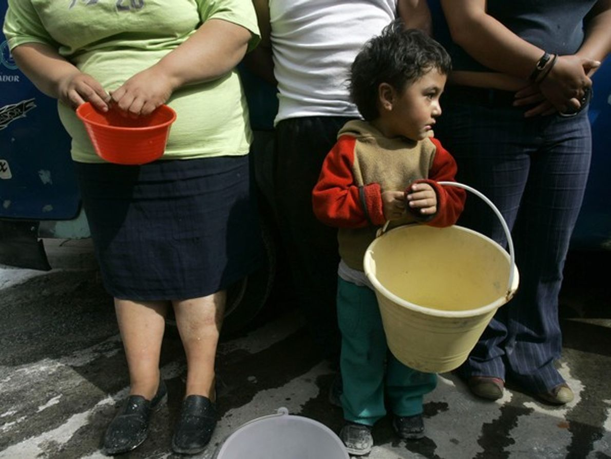 Distribución de agua (Ciudad de México)