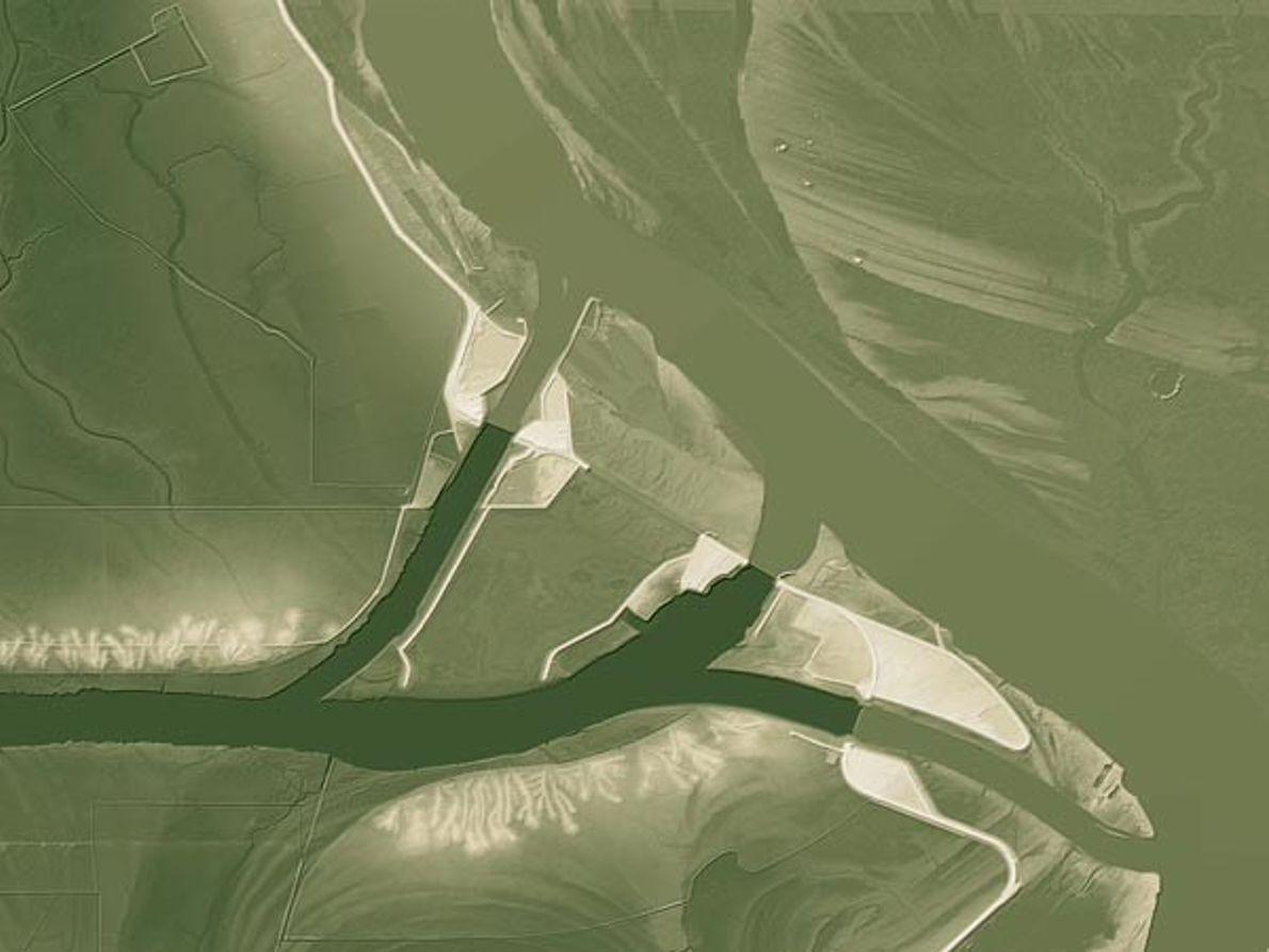 Río de flujo