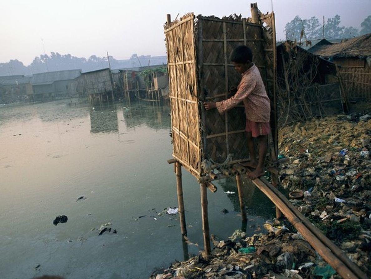 Letrina fluvial (Bangladesh)