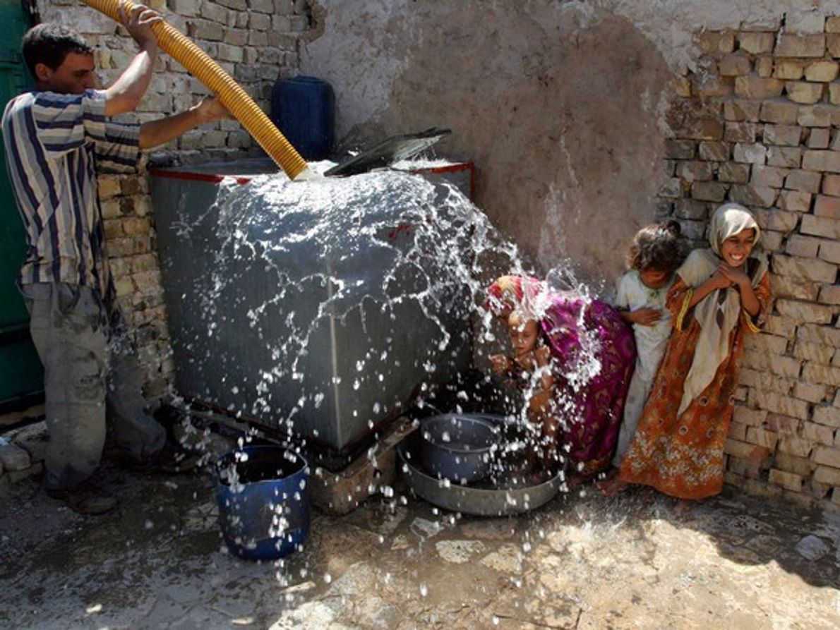 Tanque de agua (Baghdad)
