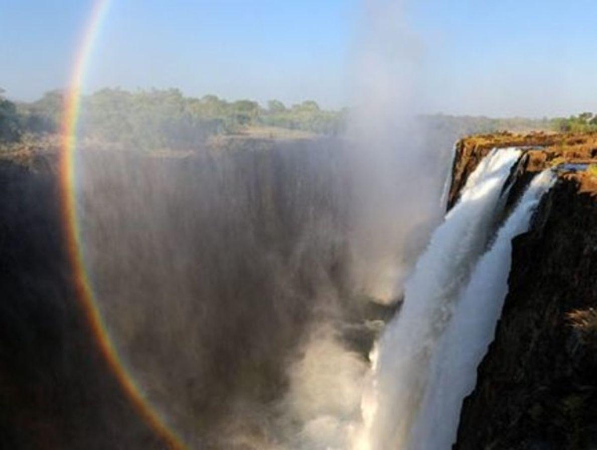 Cataratas Victoria,  Zambia y Zimbabue