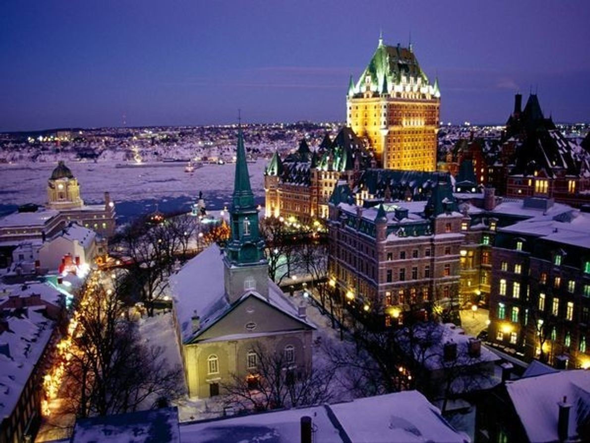 Viejo Quebec, Canadá