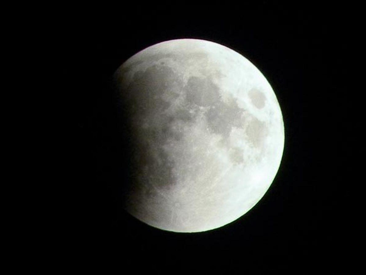 La luna mordida
