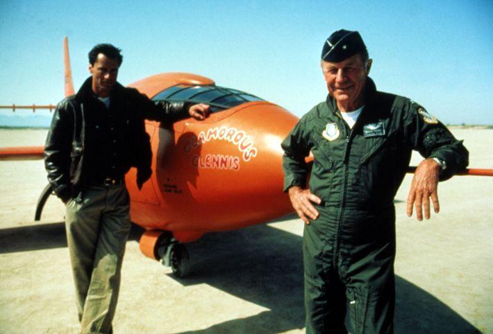Chuck Yeager y Sam Shepard